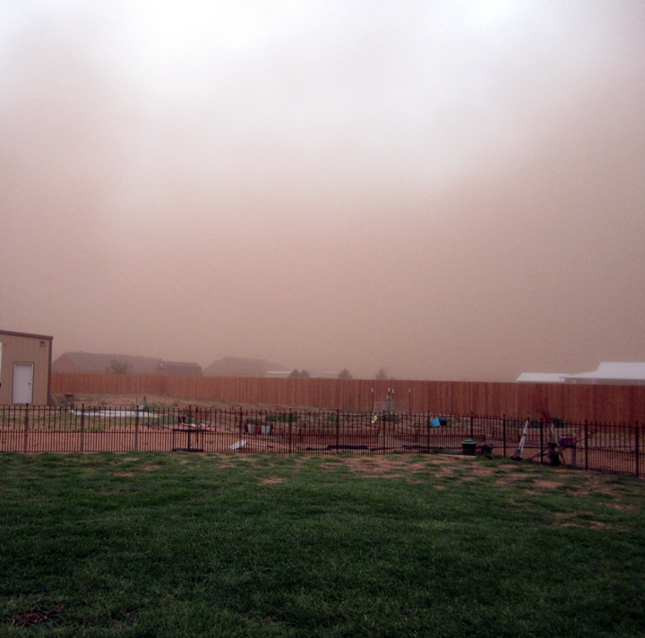 Haboob, not as bad as last year!  Thank Goodness!